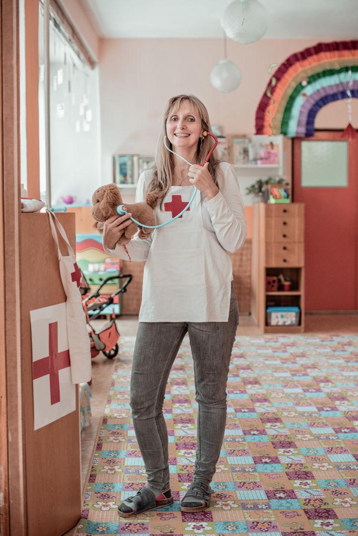 Zuzana, učiteľka v materskej škôlke