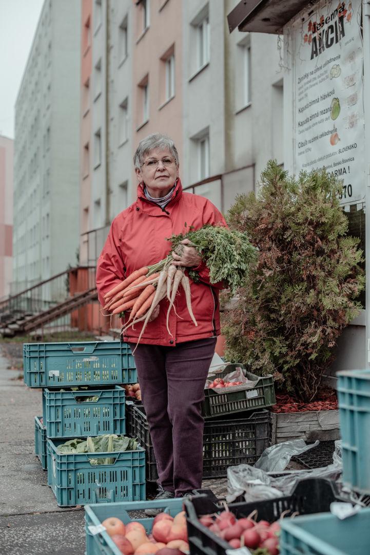 Janka, dôchodkyňa