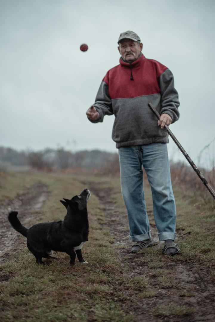 Jozef, dôchodca a cvičiteľ psov