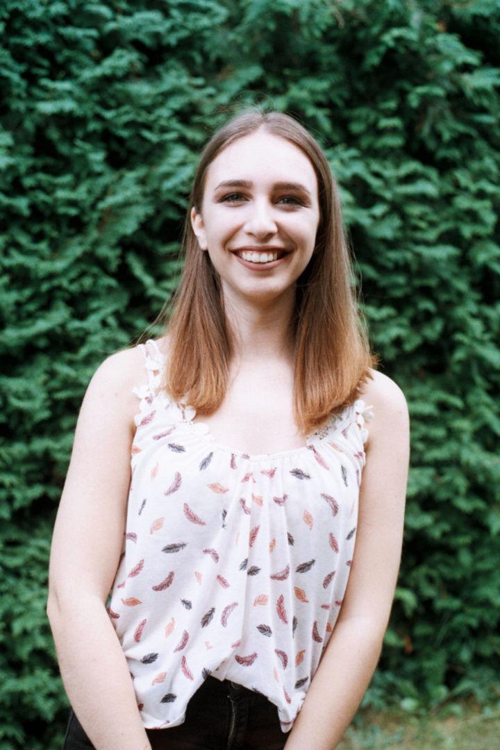 Kristína, študentka
