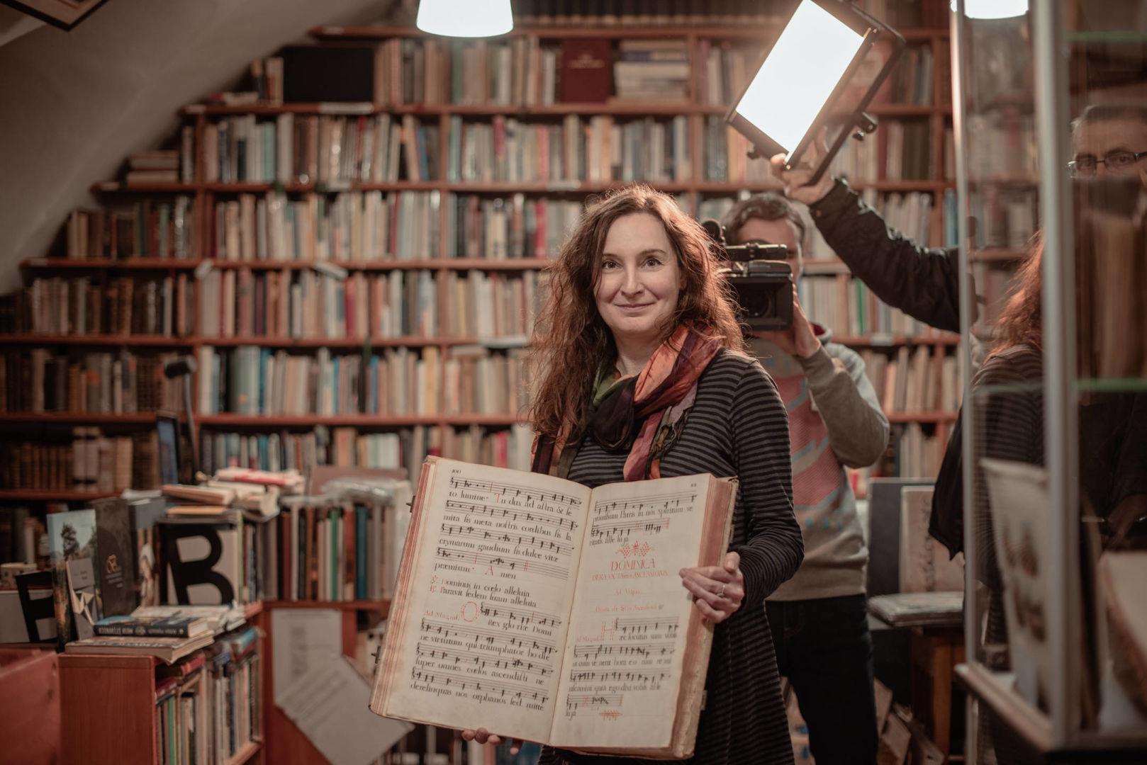 Svetlana, kníhkupkyňa