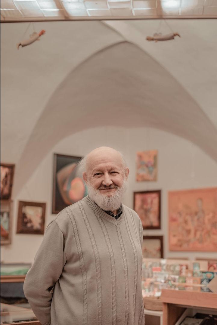 Ivan, banský technik-dôchodca