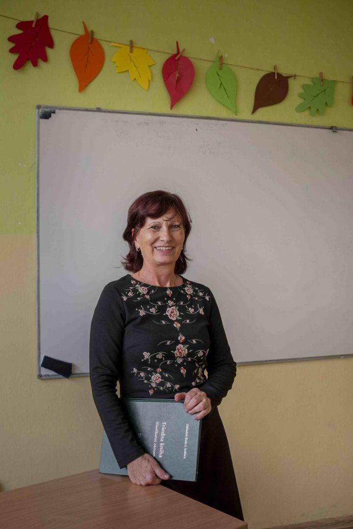 Alena, učiteľka