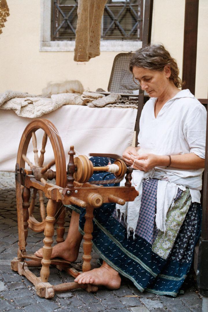 Marcela, farmárka, spracovateľka ovčej vlny