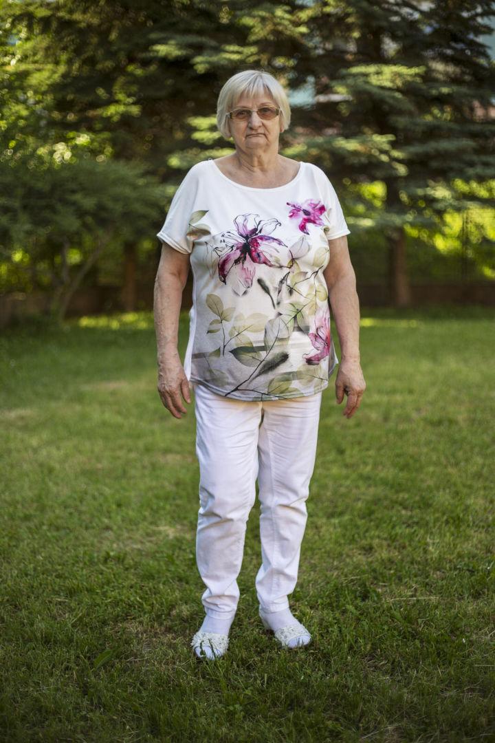 Monika, dôchodkyňa