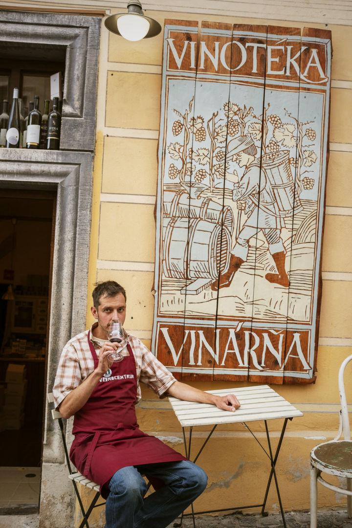 Miroslav, vinár