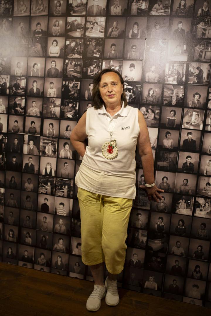 Jozefína, dôchodkyňa (návrhárka)